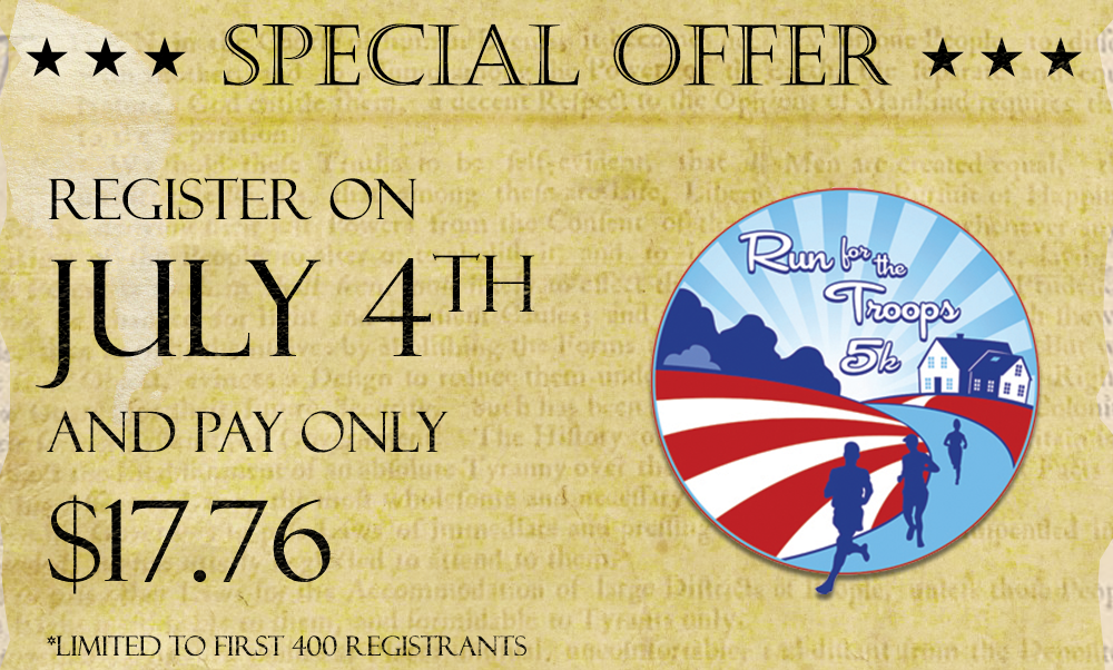 Special July Offer!